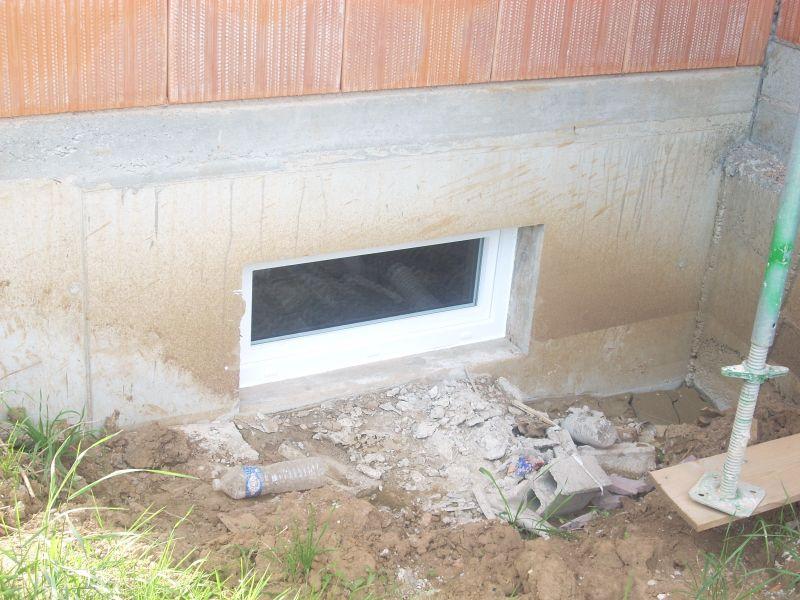 Construction de la maison de marie et gilles for Ajouter fenetre sous sol